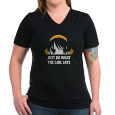 Haruhi - Just Do What the Girl Says - Shirt