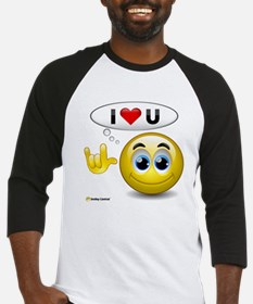 I Love You - Sign Language Baseball Jersey