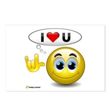 I Love You - Sign Language Postcards (Package of 8