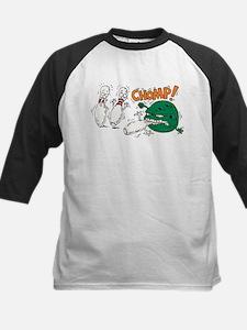 Funny Bowling Kids Baseball Jersey