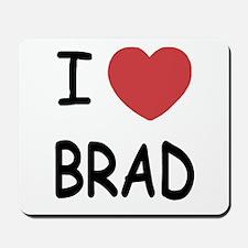 I heart Brad Mousepad