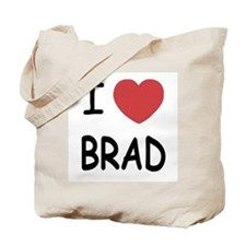 I heart Brad Tote Bag