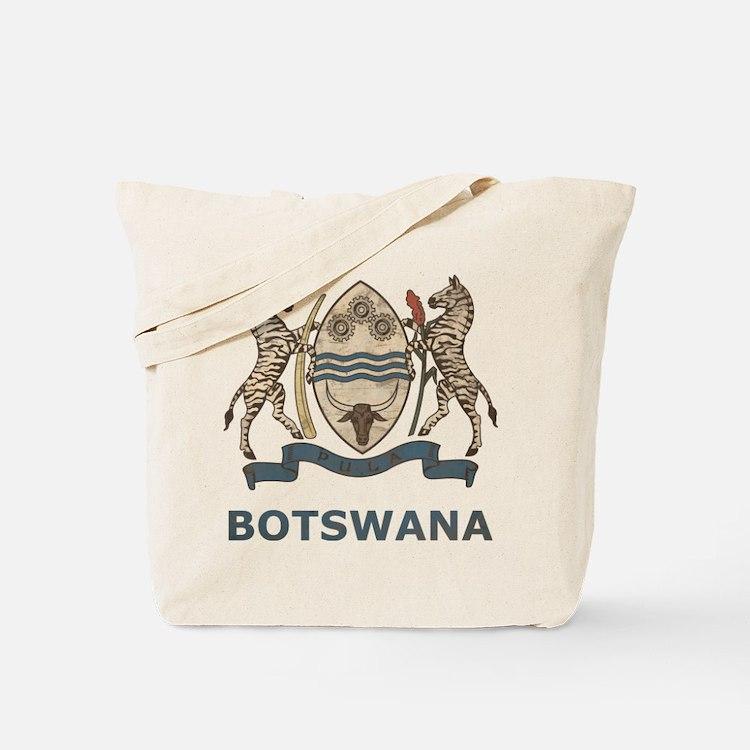 Vintage Botswana Tote Bag