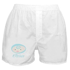 Baby Oliver face Boxer Shorts