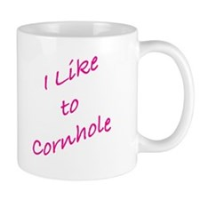 I Like To Cornhole Mug