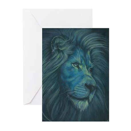 Divine Lion Greeting Cards (Pk of 10)