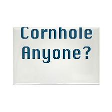 Cornhole Anyone? Rectangle Magnet