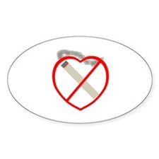 Quit Smoking Shop Oval Decal