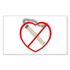 Quit Smoking Shop Rectangle Decal