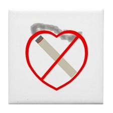 Quit Smoking Shop Tile Coaster