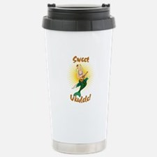 Ukulele Mermaid Travel Mug