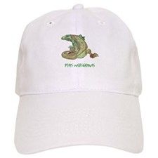 Plays With Iguanas Baseball Cap
