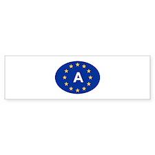 EU Austria Bumper Sticker