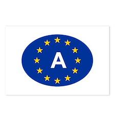 EU Austria Postcards (Package of 8)