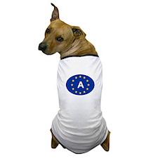 EU Austria Dog T-Shirt
