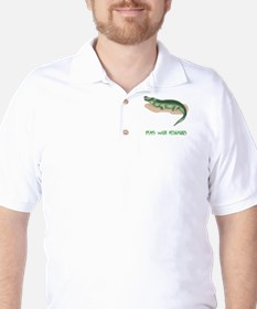 Plays With Alligators T-Shirt