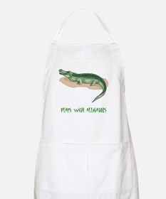Plays With Alligators BBQ Apron