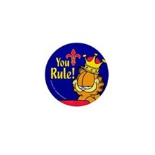 Garfield You Rule! Mini Button (10 Pack)