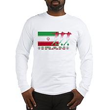 Iran soccer Long Sleeve T-Shirt
