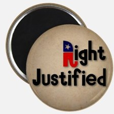 Right Justified Magnet