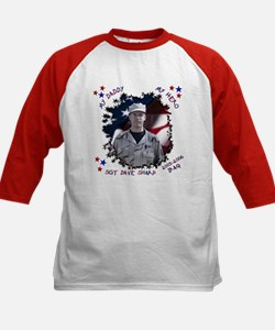 My Daddy My Hero Kids Baseball Jersey