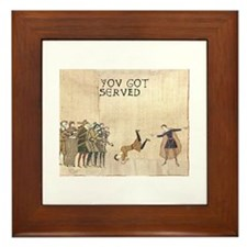 "Bayeux Tapestry style: ""You got served"""