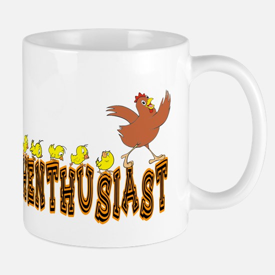 Henthusiast Chicken & Hens Mug