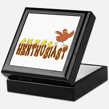 Henthusiast Chicken & Hens Keepsake Box