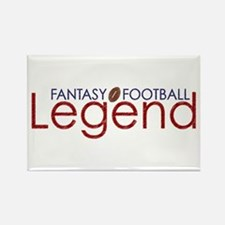 Fantasy Football Legend Rectangle Magnet
