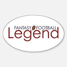 Fantasy Football Legend Decal