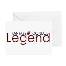Fantasy Football Legend Greeting Card