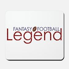 Fantasy Football Legend Mousepad