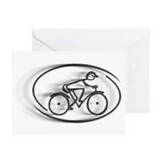 The Cyclist... Greeting Cards (Pk of 20)