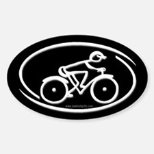 The Cyclist... Decal