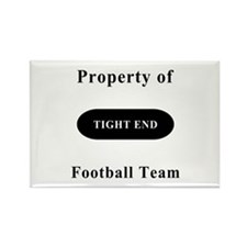 Tight End Rectangle Magnet