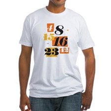 The Numbers Fitted T-Shirt