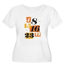 The Numbers Women's Plus Size Scoop Neck T-Shirt