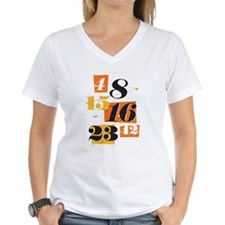 The Numbers Women's V-Neck T-Shirt