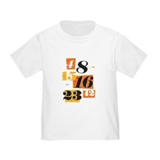 The Numbers Toddler T-Shirt