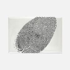 Fingerprint Rectangle Magnet