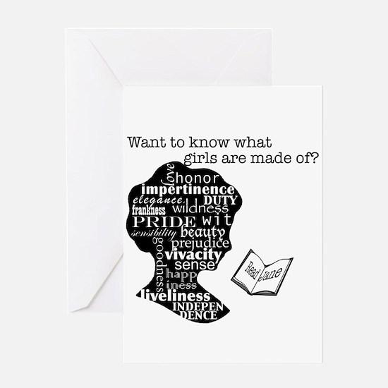 Read Jane Austen Greeting Card