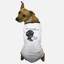 Read Jane Austen Dog T-Shirt