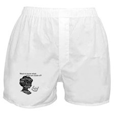 Read Jane Austen Boxer Shorts