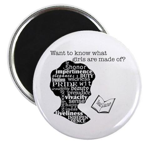 "Read Jane Austen 2.25"" Magnet (100 pack)"