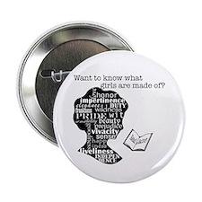 """Read Jane Austen 2.25"""" Button (100 pack)"""