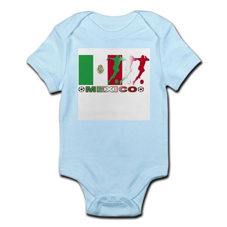 Mexico soccer Infant Creeper