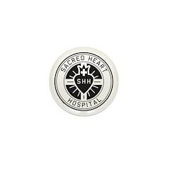 Sacred Heart Mini Button