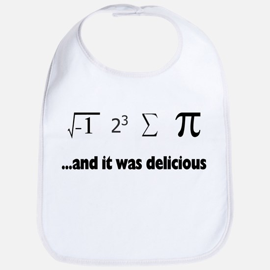 I ate sum Pi Bib