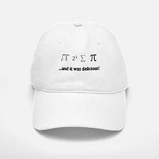 I ate sum Pi Baseball Baseball Cap