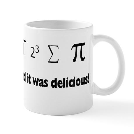 I ate sum Pi Mug